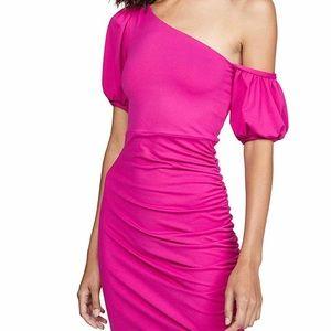 SUSANA MONACO hot pink dress size large nwt
